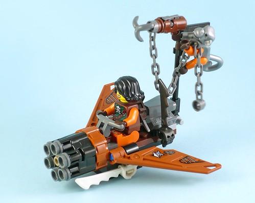 LEGO Nijago 70602 Jay's Elemental Dragon 06