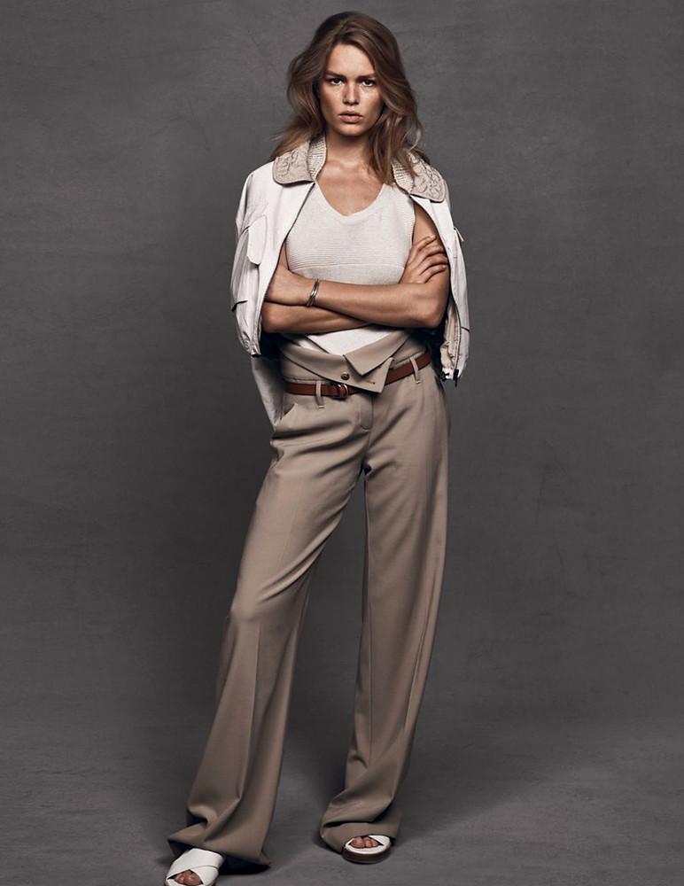 Анна Эверс — Фотосессия для «Vogue» UK 2016 – 4
