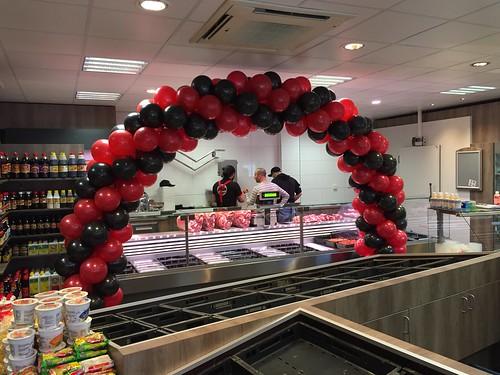 Ballonboog 7m Celikmarket Amsterdam