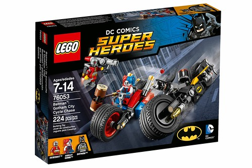 LEGO Marvel Super Heroes 76053 Gotham City Cycle Chase 01
