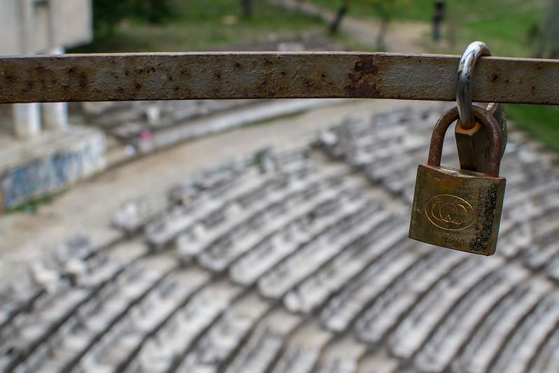 Grand Park of Tirana amphitheatre