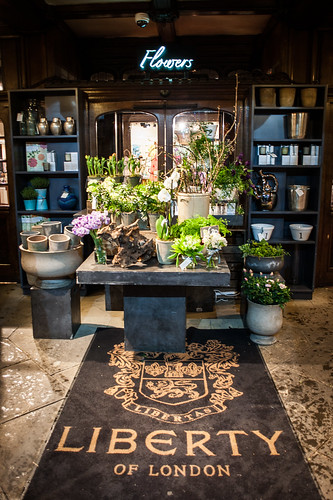 Liberty of London Flower Shop