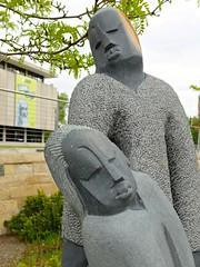 Sculpture by Norest Mashaya, detail