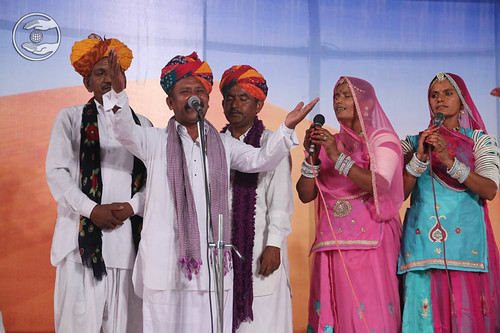 Rajasthani devotional song by Bhola Ram and Saathi from Utarlai