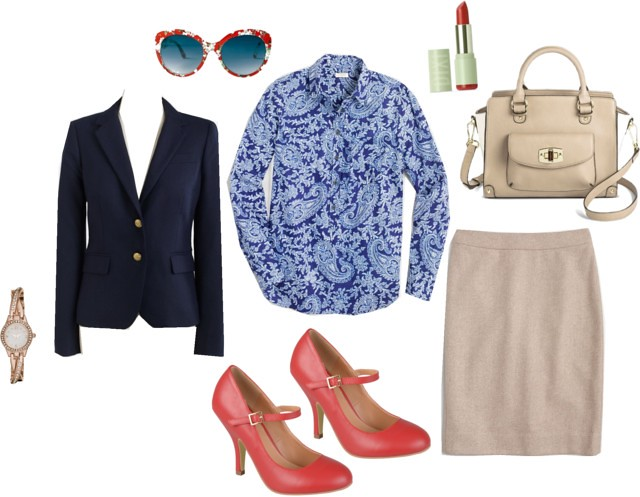 What I Wish I Wore, Vol. 116 - Retro Office | Style On Target