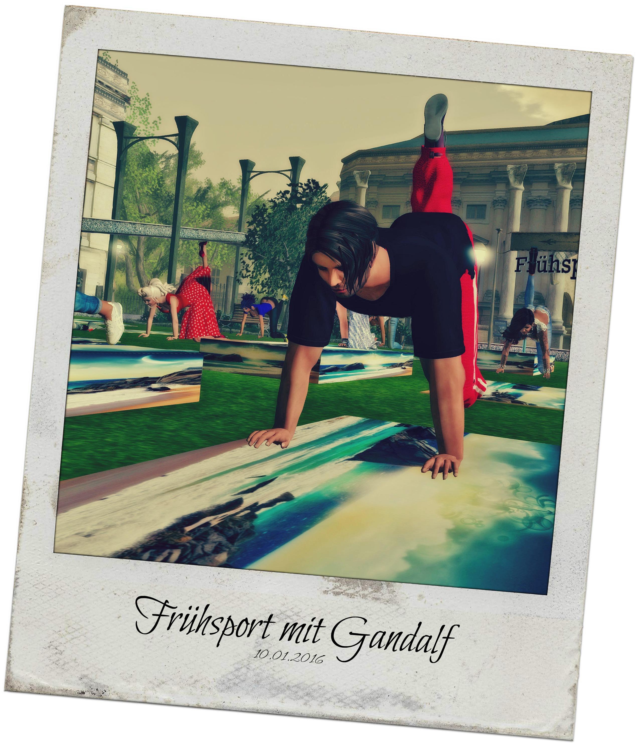 Frühsport - Gandalf
