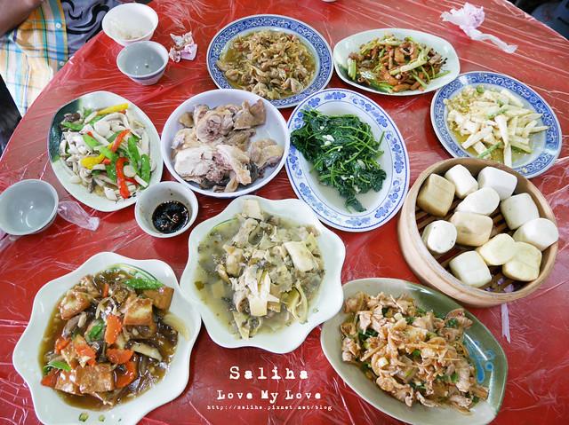 陽明山竹子湖美食白斬雞推薦青菜園 (1)