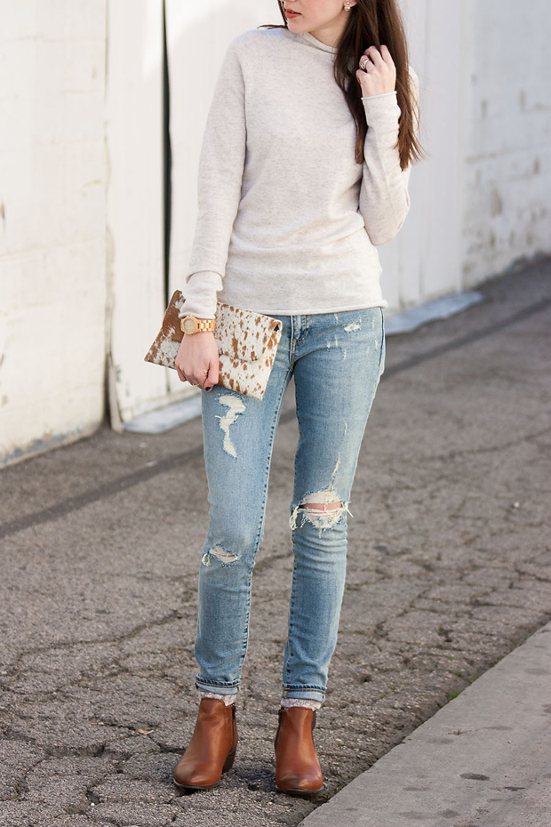 Steve Madden Booties, Jackson and Hyde Clutch
