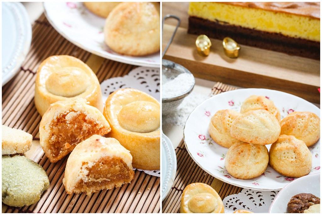 Bakerzin Parmesan Pineapple Tarts