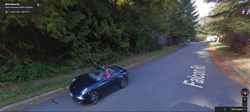 I found myself on Google Streetview