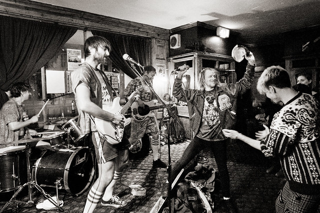 Photograph: [Untitled]; The Gnarwhals + Chuman @ The Stag and Hounds, Bristol, January 2016. By Simon Holliday.