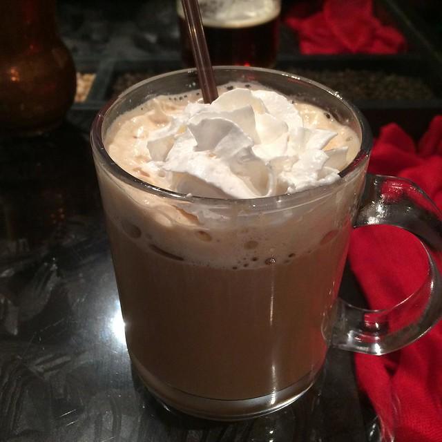 Vanilla chai #yegfood @naanolicious