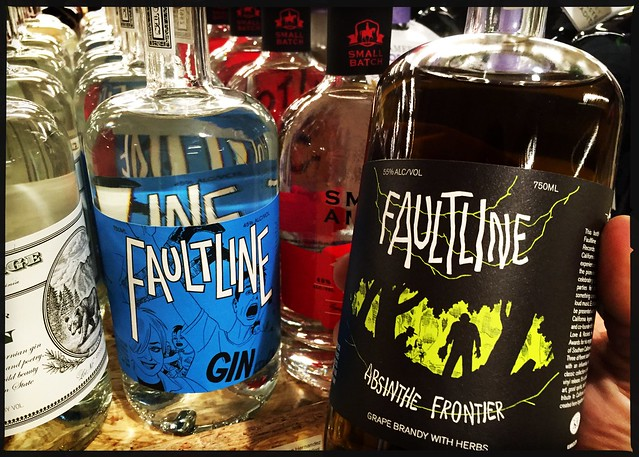 Faultine Gin and Absinthe