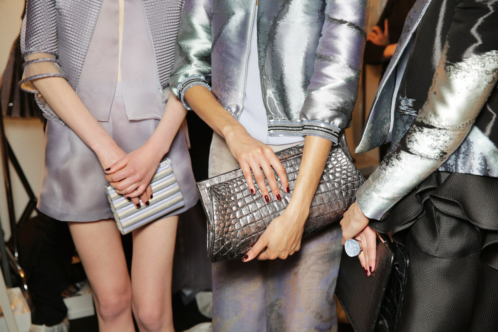 Backstage Beauty: Giorgio Armani Privé Couture Spring 2016