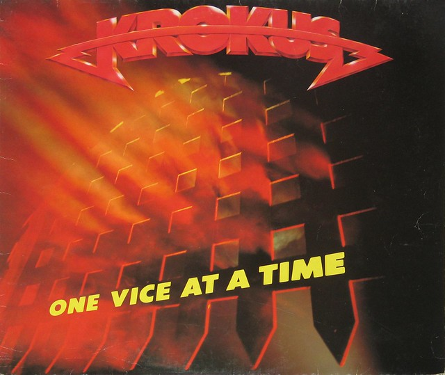 "Krokus One Vice at a Time 12"" Vinyl LP"