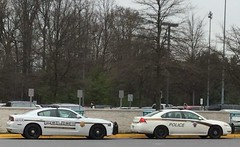 Montgomery County Police Cruisers