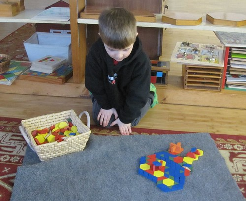 cool designs with the pattern blocks