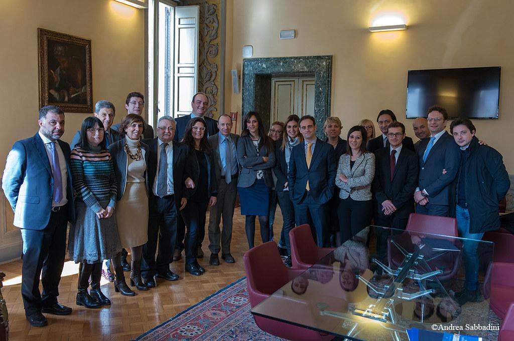 Firma convenzione CNF su fondi europei 19 febbraio 2016