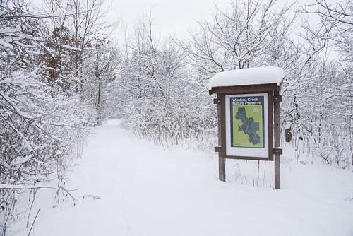 Waukau Creek Nature Preserve Map