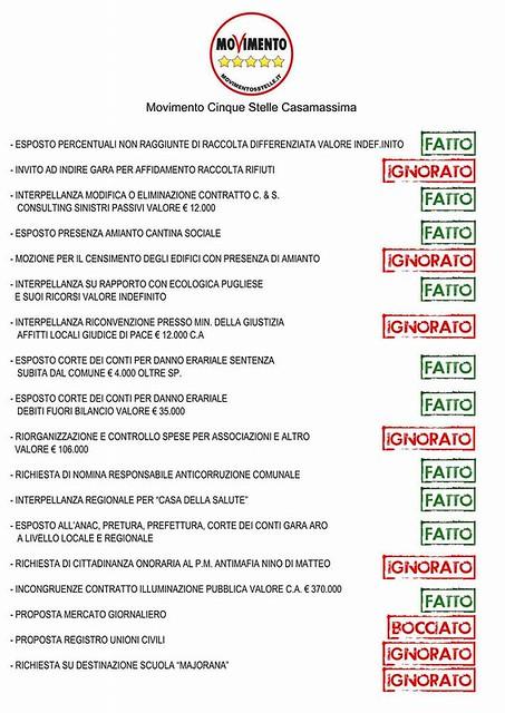 manifesto m5s casamassima