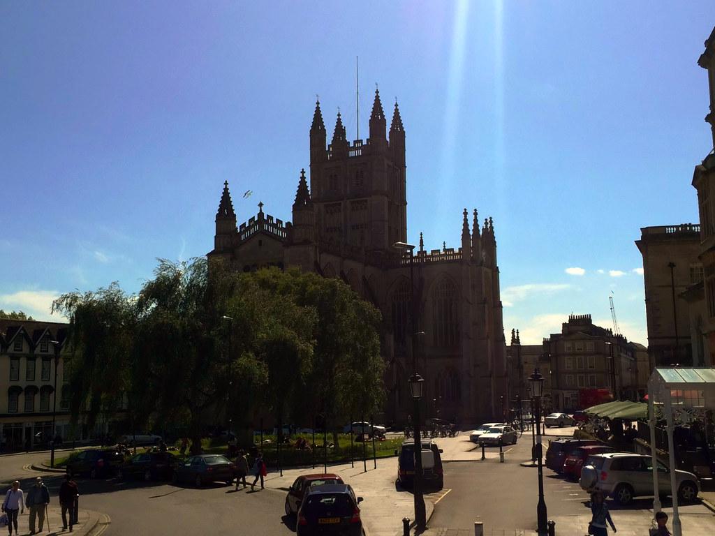 Bath en un día: Abadía de Bath bath en un día - 24544769484 1394bba333 b - Bath en un día, el SPA de Roma en Inglaterra