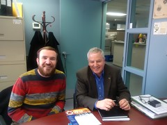 With North Dundas Mayor Eric Duncan