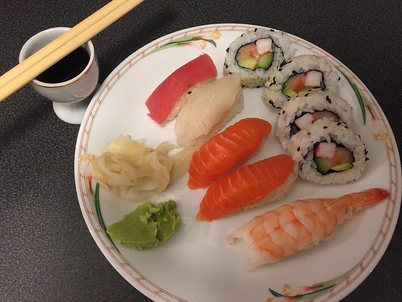 Fredags sushi