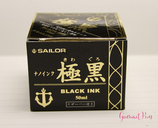 Ink Shot Review Sailor Kiwa-Guro Pigmented Nano Black @Stilografica_fi (1)