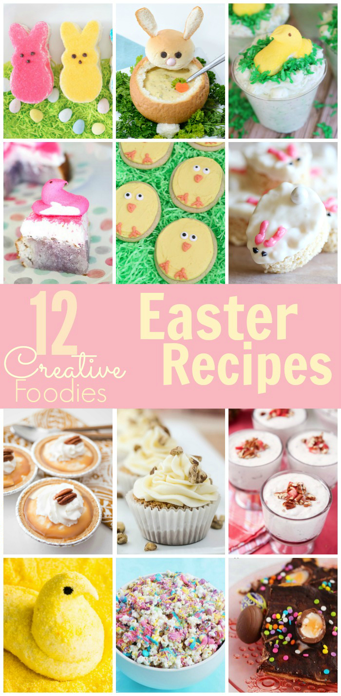 12 amazing Easter recipes you have got to try from the top Creative Food Bloggers