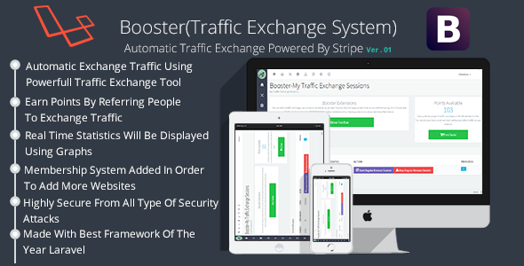 CodeCanyon Booster Traffic Exchange System