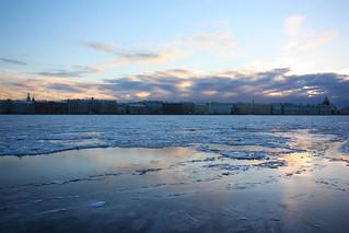 Neva River.