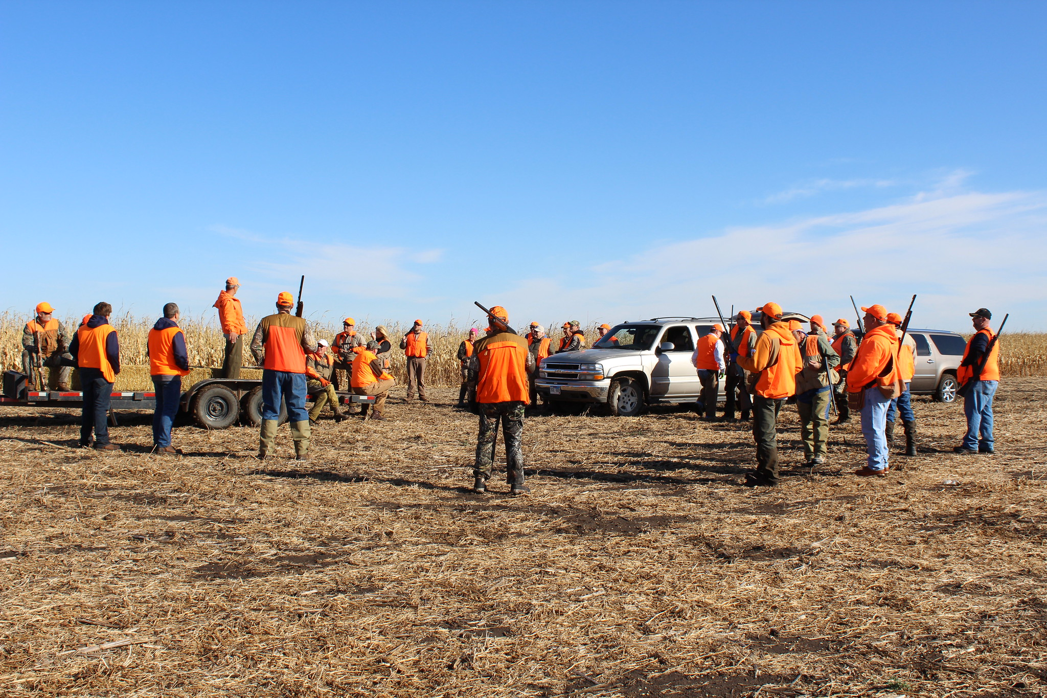 2nd Annual Flatlanders Pheasant Hunt for Guide Dogs of America