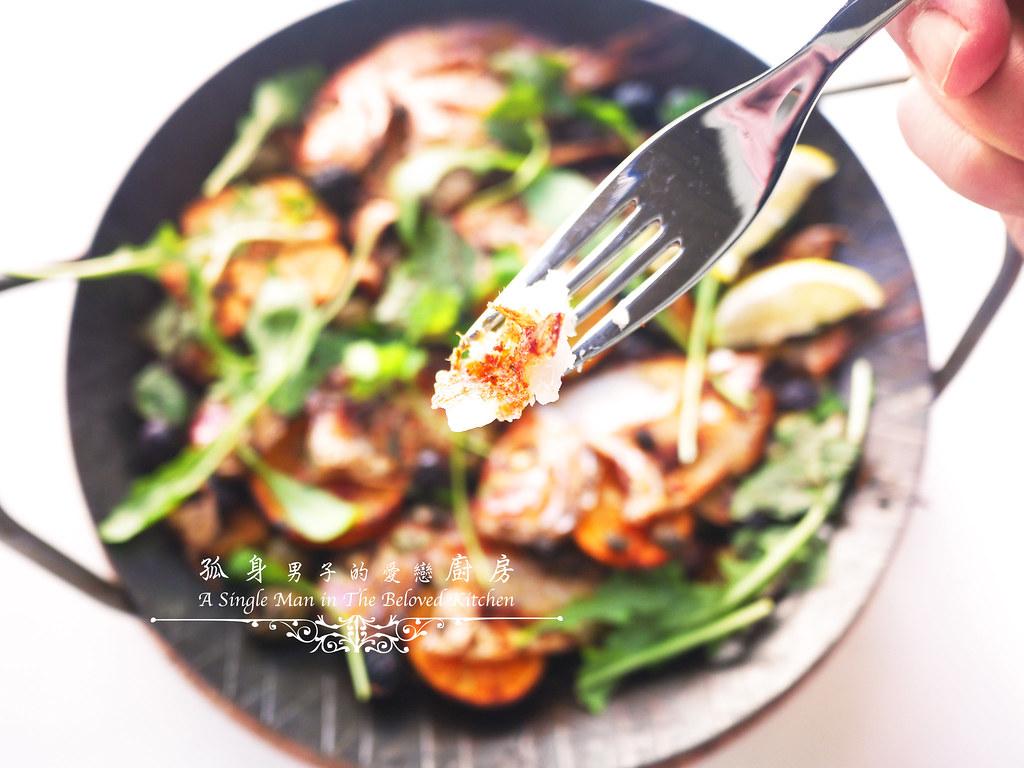 孤身廚房-橄欖柑橘香烤赤鯮22