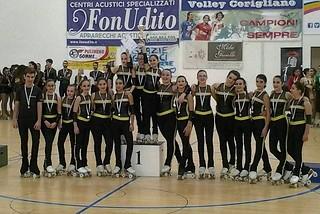 Noicattaro. Campionati regionali pattinaggio