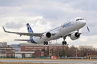 Airbus A321neo primer vuelo (Airbus)