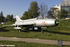 116 - 2116 - Polish Air Force - Sukhoi SU-7 UM - Polish Aviation Musuem - Krakow, Poland - 151010 - Steven Gray - IMG_0330