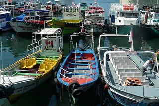Valparaiso - Boats