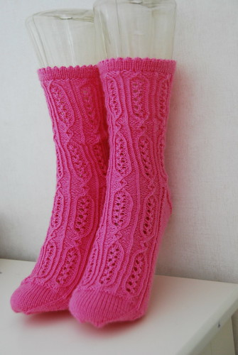 Jane Bennet Socks by Rachel Coopey