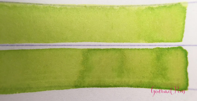 Ink Shot Review Lamy Charged Green 2016 Limited Edition @Fontoplum0 (3)