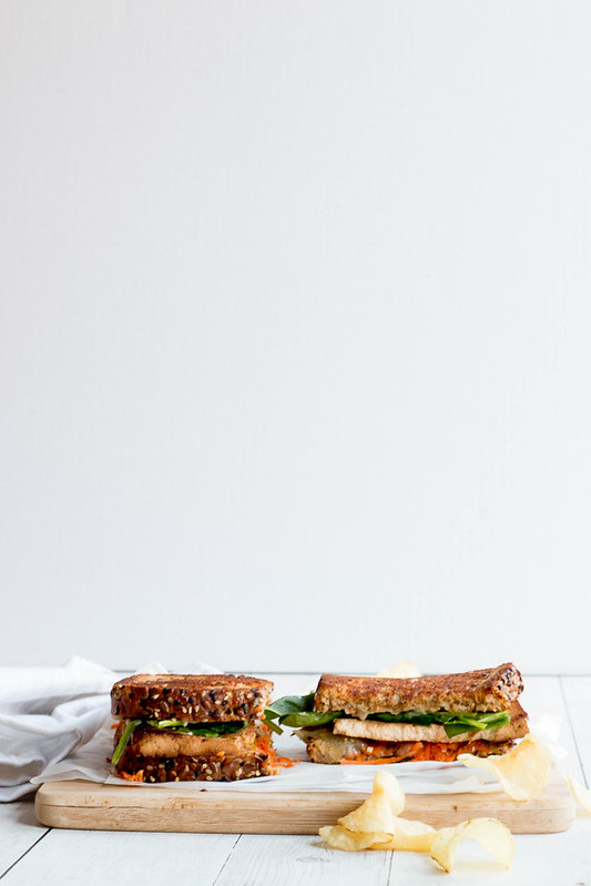 Smoked Tofu Grilled Sammie