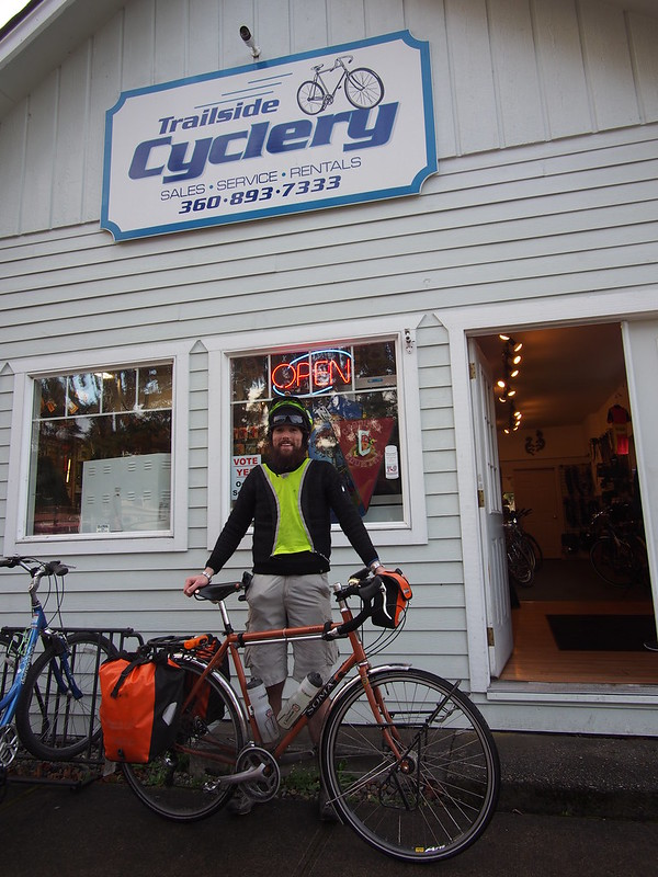 At the Trailside Cyclery: OLYMPUS DIGITAL CAMERA