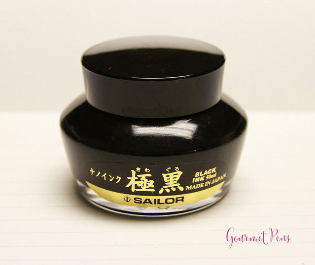 Ink Shot Review Sailor Kiwa-Guro Pigmented Nano Black @Stilografica_fi (2)