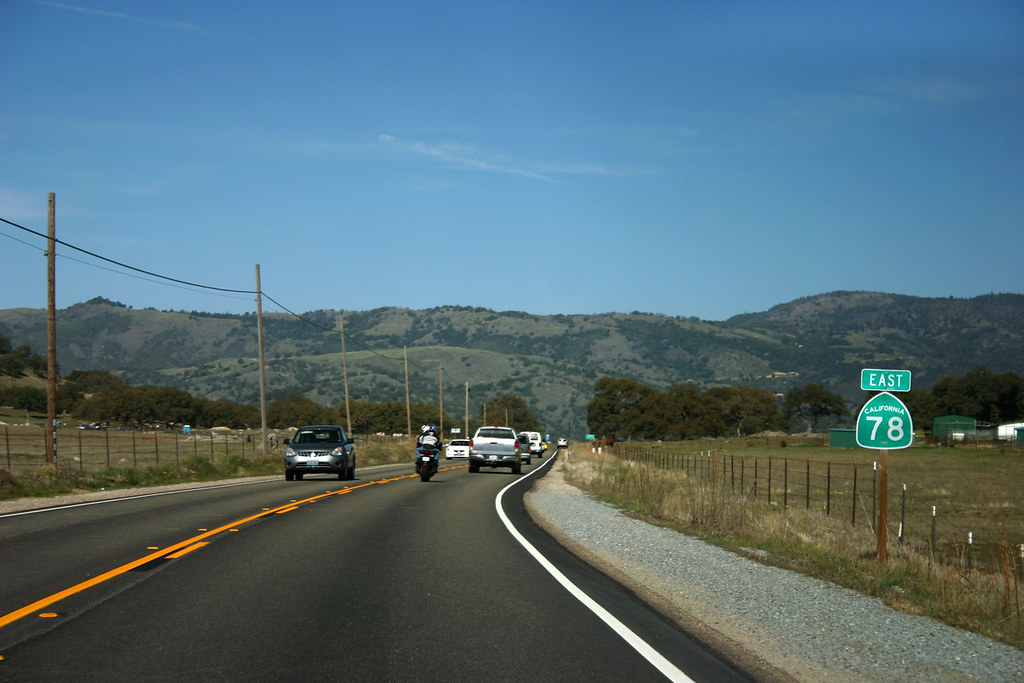 CA 78 Sign - Elevation About 3000 Feet
