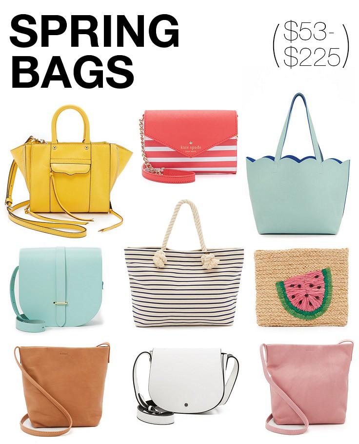 pretty spring bags 2016