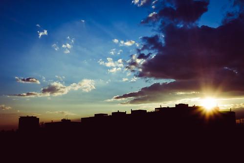 sunset sky building silhouette skyline clouds croatia olympus zagreb omd em10 201603 olympus17mm18