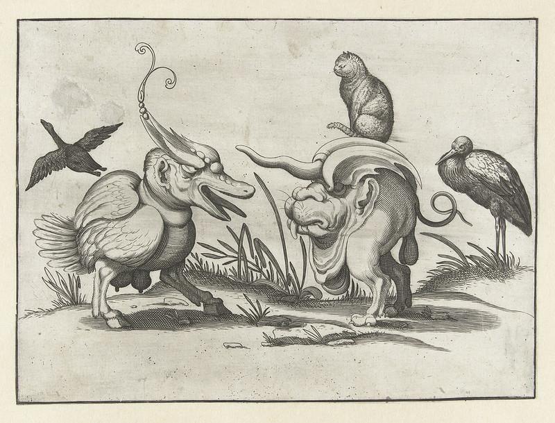Arent van Bolten - Grotesque Creatures 8, 1604-1616
