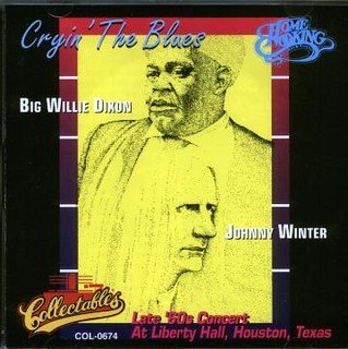 Johnny Winter's Crying The Blues