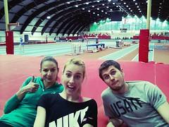 Spała COS# HIGH JUMP DREAM TEAM #FITCOACH #Justyna Kasprzycka# Ula Gardzielewska #Dawid Pyra
