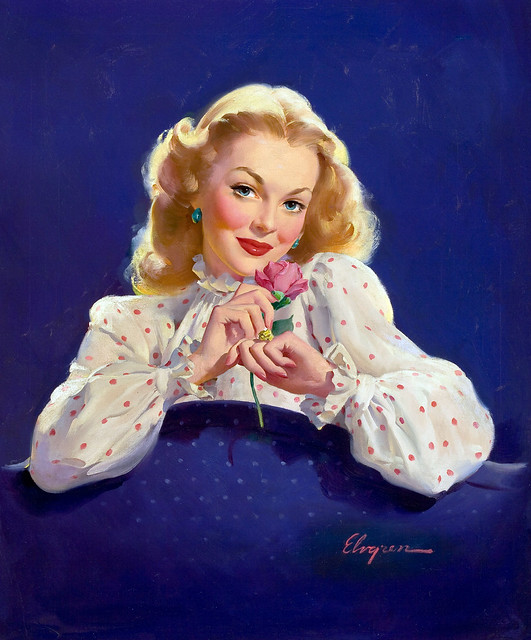 Coca-Cola advertisement by Gil Elvgren