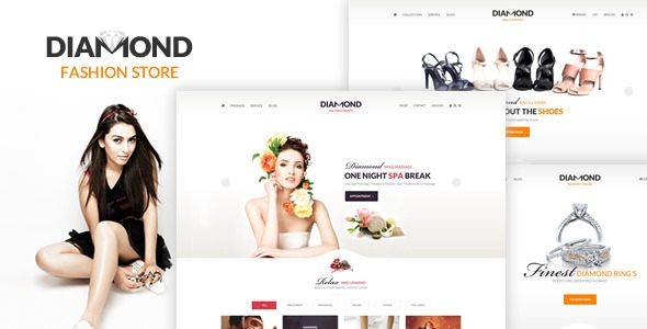 Diamond – Multi-Purpose eCommerce PSD Template
